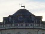 Particolare della cupola della palazzina di caccia di Stupinigi con il cervo