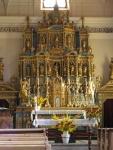 Chiesa di Issime: altare