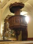 Chiesa di Issime: pulpito