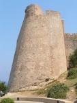 Torre della citta' alta di Calvi