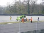 Formula Junior: recupero di un mezzo alla fine della gara