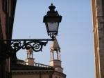 Lampione nei pressi della Cattedrale