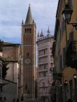 Campanile della Cattedrale e parte del Battistero