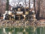 L'isola nel laghetto del Palazzo Ducale