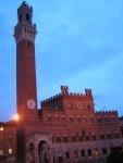Palazzo Pubblico con la  torre del Mangia